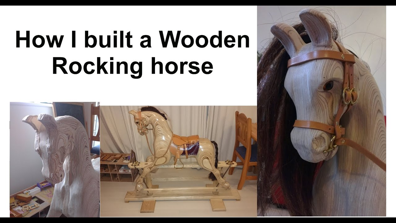 How I Built A Quot Rocky Quot Wooden Rocking Horse From Plans