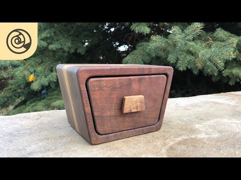 Simple Trapezoid Bandsaw Box