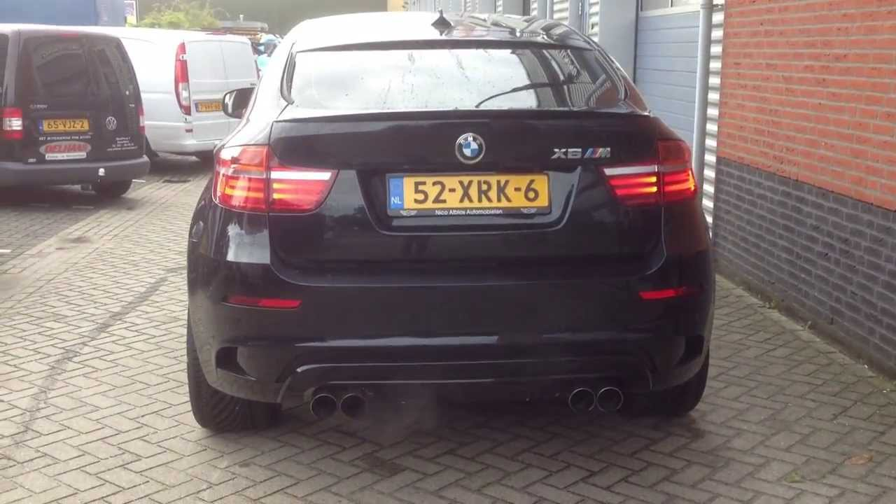 BMW XM6 Revs with Supersprint exhaust By crooke Tuning ...