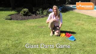 Kingfisher Giant Darts Game