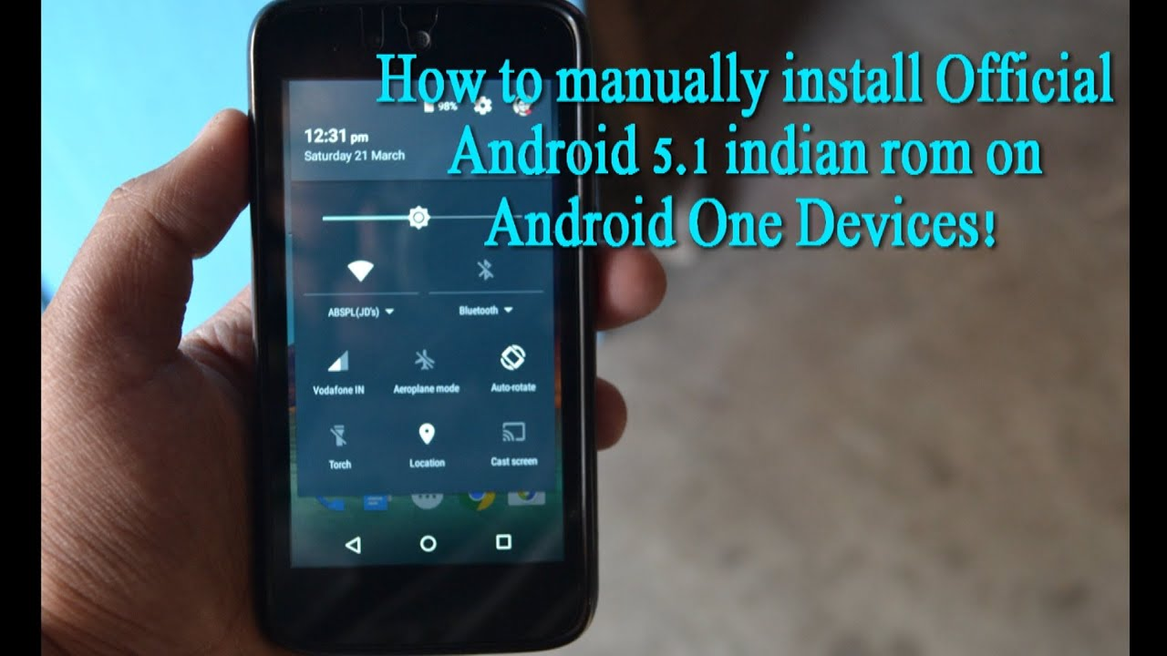 How to Manually Install Official Android 5 1 1 Lollipop ROM on Android One  devices!