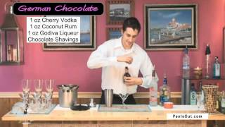 German Chocolate Martini - Peelsout.com