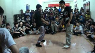 Top 8 - [Super Sky - Popping Battle 2012] - Thức Perluv Vs Mackin Pop