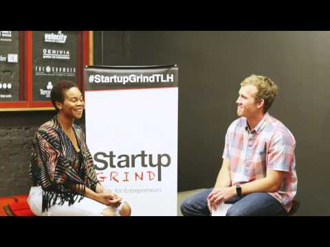 Jasmine Anderson (Distressed by Jas) at Startup Grind Tallahassee