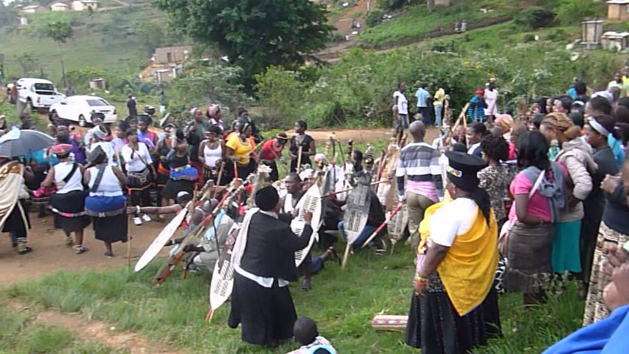 Zulu Wedding Ceremony Valley Of A Thousand Hills Nation South Africa You
