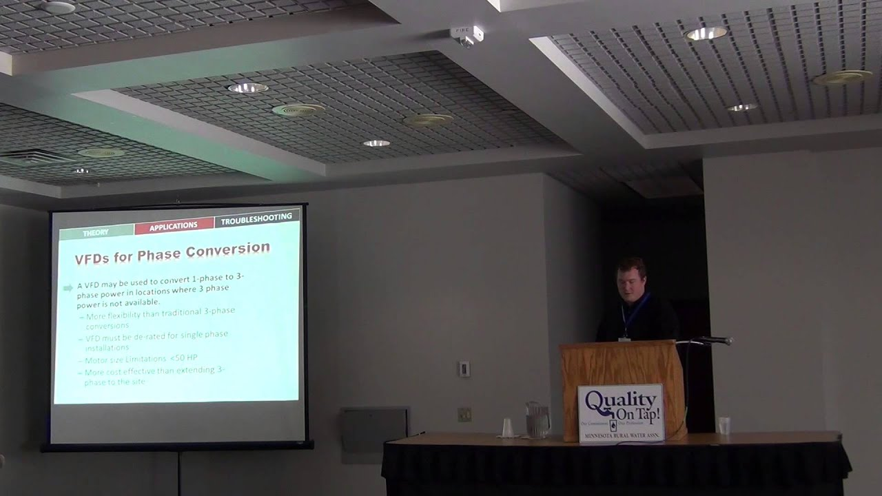 ATC 2013 - Water track - VFD Theory, Application, & Troubleshooting - YouTube