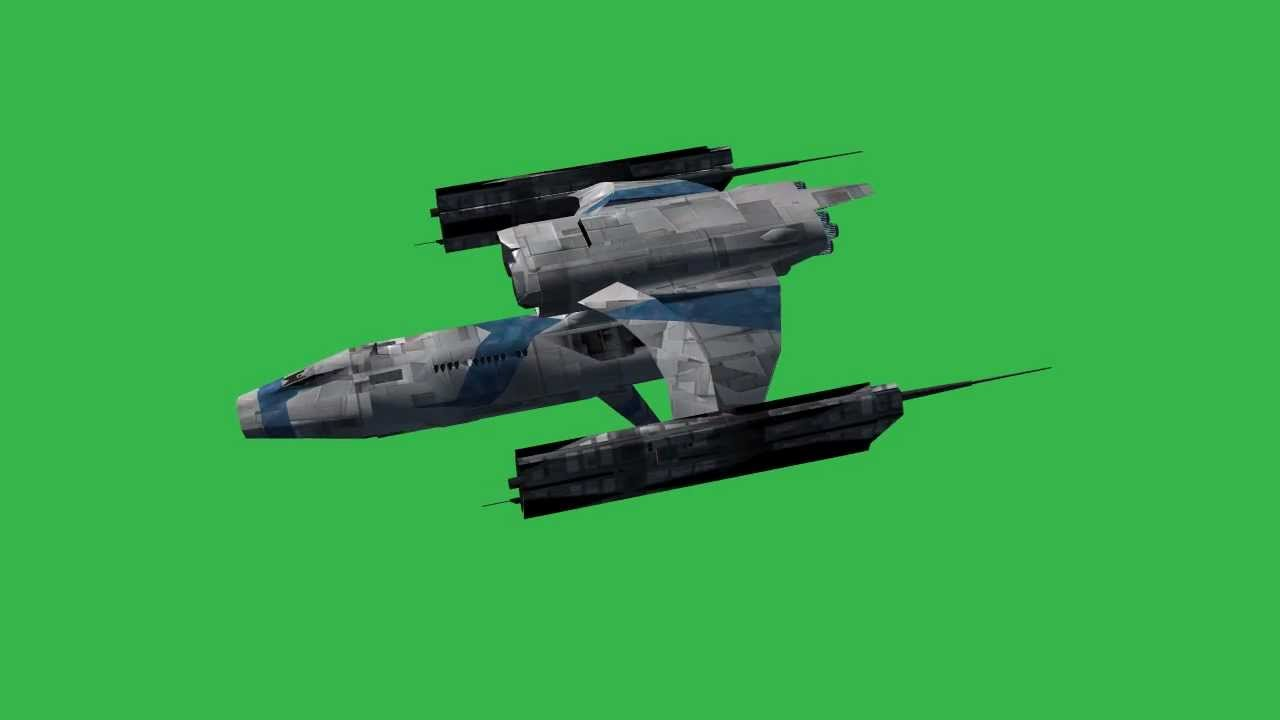 """Spaceship-Hermes"" Free Green Screen Effects"