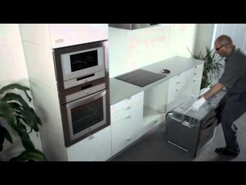 Hornos balay con sistema de f cil instalaci n youtube for Mueble para encastrar horno y encimera