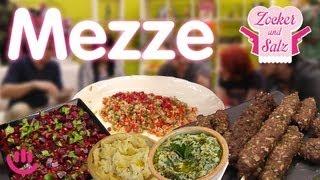 Mezze - Zocker und Salz