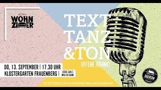 Text, Tanz & Ton auf dem Frauenberg: Die Highlights!