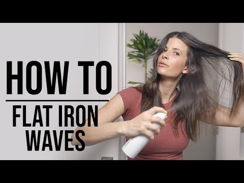 textured-flat-iron-waves-with-super-dry-shampoo-|-how-to-|-ouai-|-#grwm
