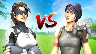 1v1 Against One of the Best Controller Players - Fortnite