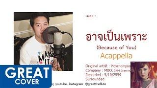 อาจเป็นเพราะ (Because of you) Acappella – Ploychompoo【เกร้ท Cover】