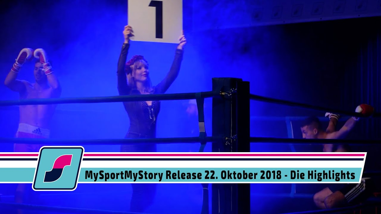 MySportMyStory Release am 22. Oktober 2018 - Highlights