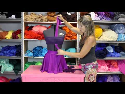 How to DIY Your Dance Costume - Adding Fabric