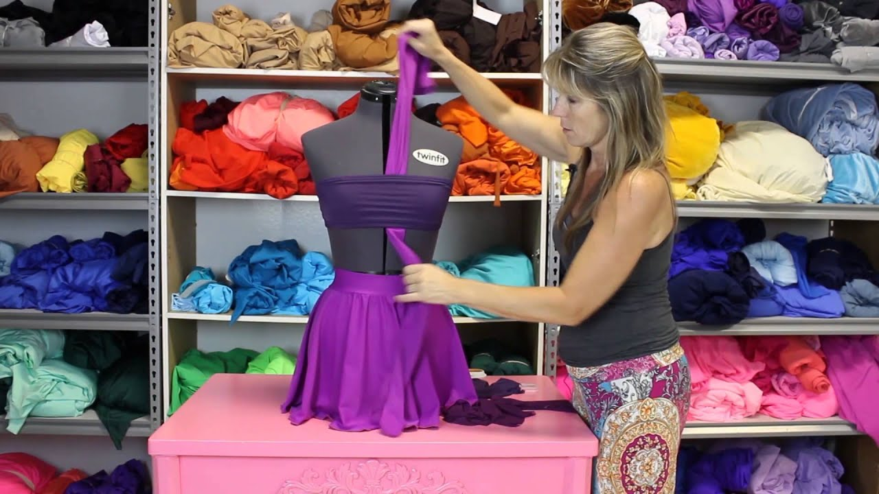 How to diy your dance costume adding fabric youtube solutioingenieria