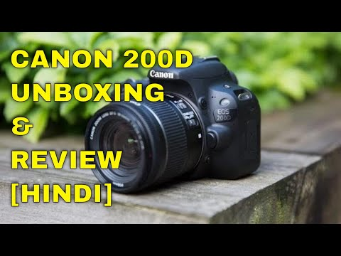 CANON 200D || IS THIS WORTH ? || UNBOXING& REVIEW (HINDI) By RIDER MAURYA