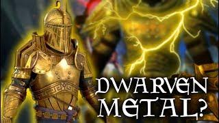 Skyrim: HOW does it WORK? - Mystery of Dwarven Metal - Dwemer Armor & Weapons - Elder Scrolls Lore
