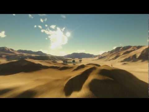 Desert Flyover - 3D CGI Animation