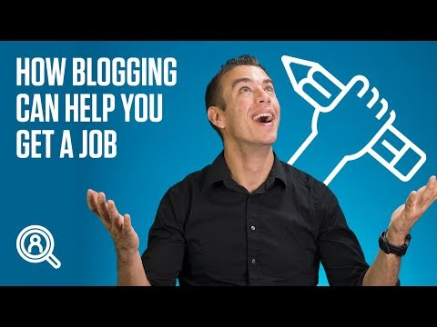 How blogging can help you get a job