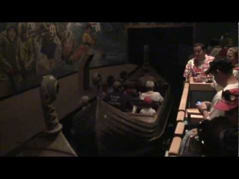 Maelstrom ride-though in the Norway Pavilion at Disney's Epcot theme park
