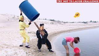Top New Funny 😂 😂 Comedy Videos 2020 - Episode 93 | Cười Bể Bụng Với Ngộ Không Ăn Hại Và Gái Xinh