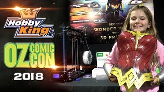 Comic-Con Cosplay Action With Hobbyking