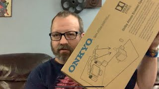 Onkyo Dolby Atmos Speaker Unboxing.