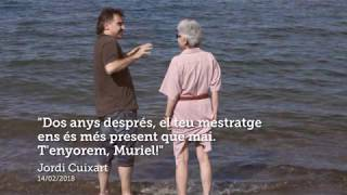 Muriel Casals: dos anys sense tu
