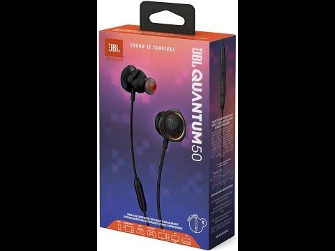 Навушники JBL QUANTUM 50 Black (JBLQUANTUM50BLK)