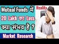 Is Big Loss Possible in Mutual Funds ? Market Research Explained