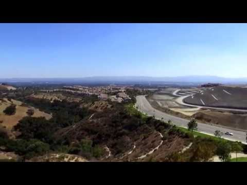 DRONE OVER THE SAN FERNANDO VALLEY [2.7k HD]