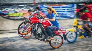 Download Video Ini Dia!! Joki Cewek TERHEBAT Thailand Drag Bike Party 2017 MP3 3GP MP4