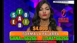 Romina Leal conduce SM$ por Canal 13 (07/05/13)