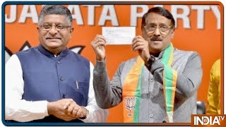 Congress Leader Tom Vadakkan Joins BJP In Presence Of Union Minister Ravi Shankar Prasad