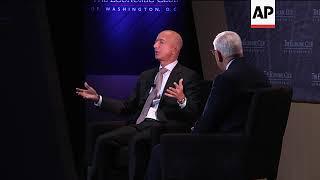 Bezos: Washington Post not at war with the president
