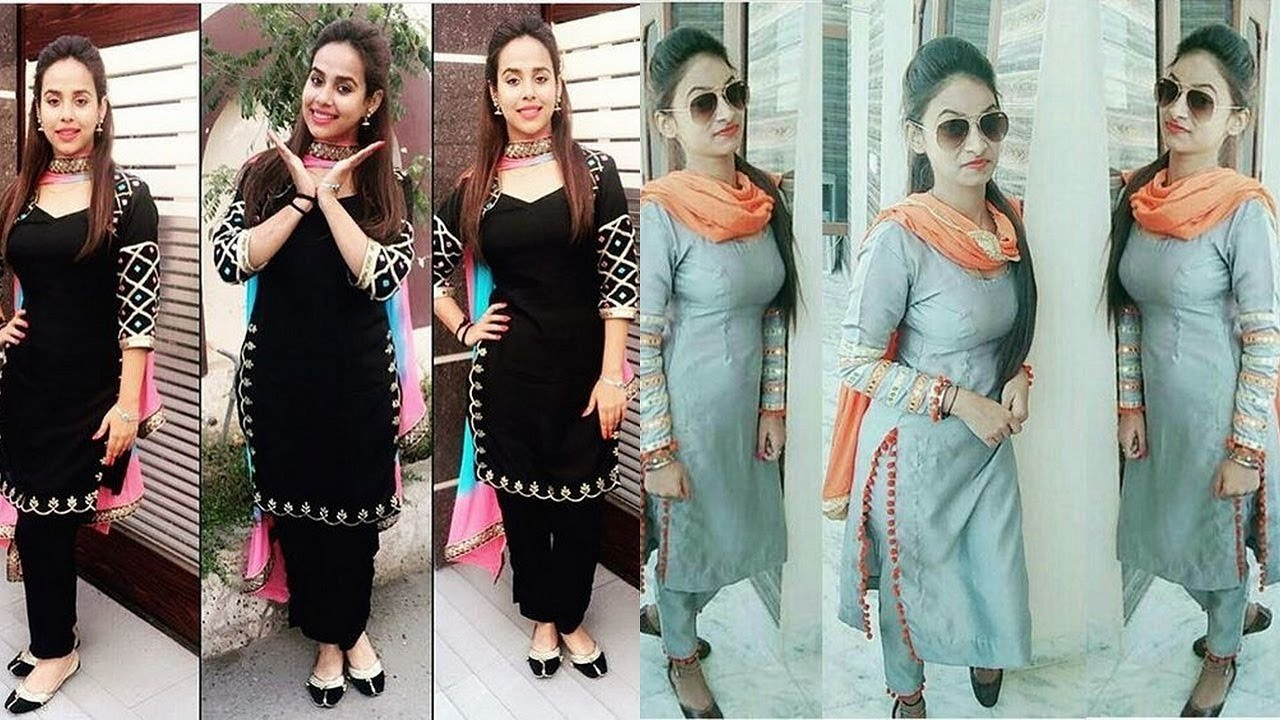 Punjabi Suits Design | Punjabi Suits 2018|Punjabi Suits with Price ...