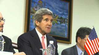 Secretary of State Kerry's Trilateral Meeting with Japan and South Korea