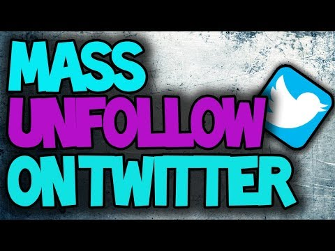 How to Mass Unfollow/ Follow Twitter 2017 Hack (includes Free Downloadable Script)