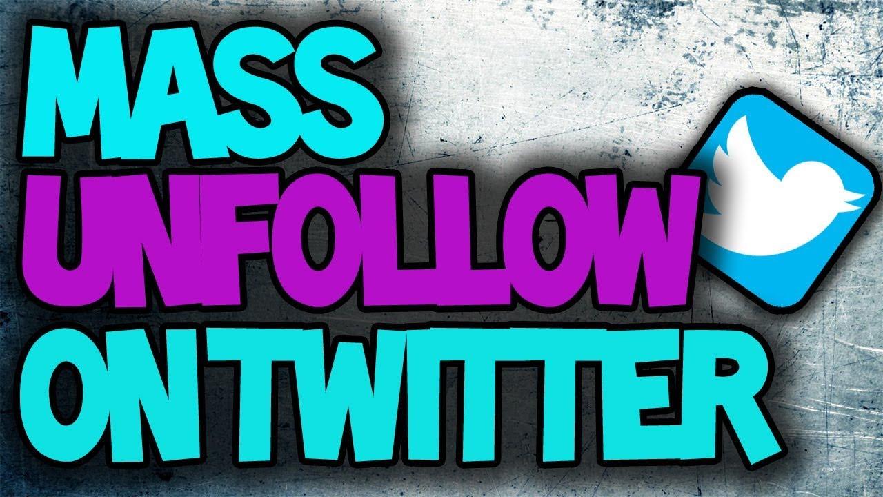 How to Mass Unfollow/ Follow Twitter 2018 Hack