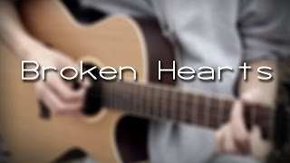 (Michael Ortega) Broken Hearts - Albert Gyorfi ( fingerstyle guitar cover ) [+TABS]