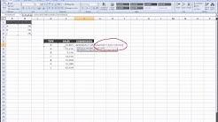 Excel - Index function