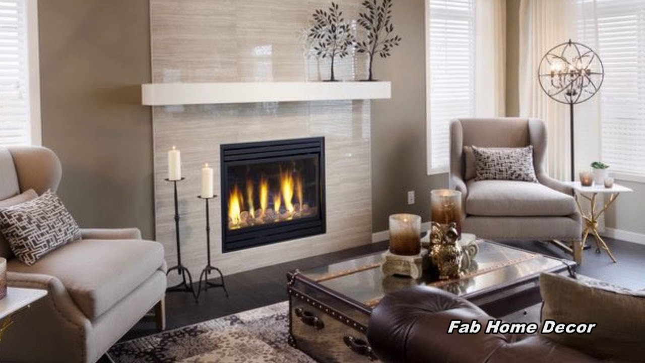 2018 Winter Fireplace Mantel Decoration Ideas. Fab Home Decor