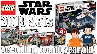 LEGO Star Wars 2019 Set Pictures According To A 10 Year Old