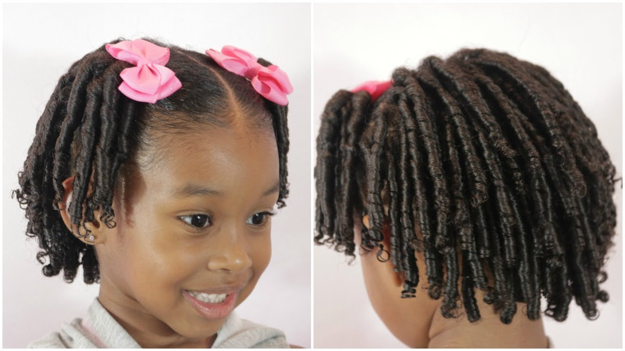 Ringlets in Curly Hair | Perfect for Picture Day