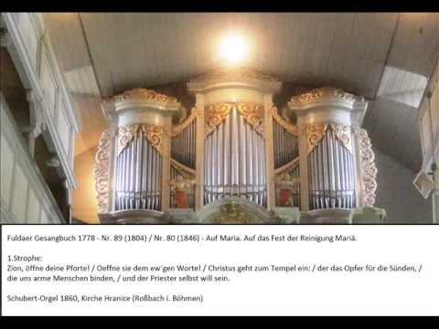 Fuldaer Gesangbuch 1778 (Nr. 71) - Seht, Christen, Gottes Unterthanen from YouTube · Duration:  46 seconds