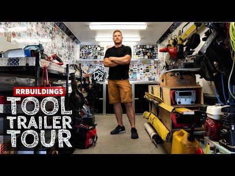 RR Buildings Tool Trailer Setup