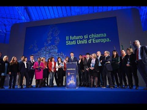 """Matteo Renzi a Milano per """"Il futuro si chiama Stati Uniti d'Europa"""""""