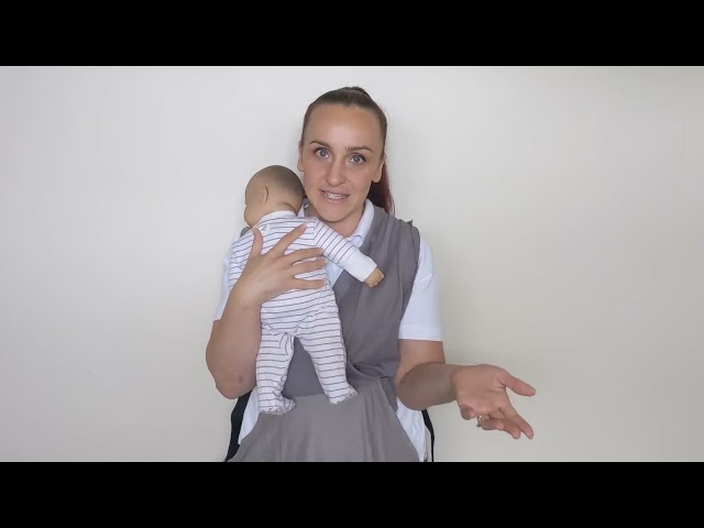 Moby Easy Wrap Review and Demonstration