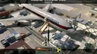 call of duty modren warfare 2 throwing knife kills ( killcam game/round winning kill)